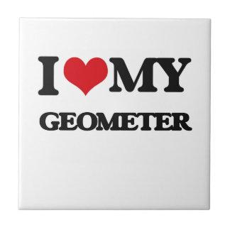Amo a mi geómetra teja