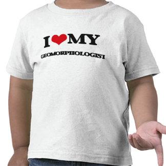 Amo a mi Geomorphologist Camisetas