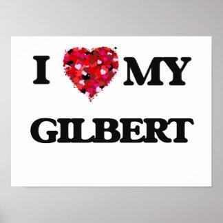 Amo a MI Gilbert Póster