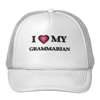 Amo a mi gramático gorras de camionero
