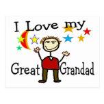 Amo a mi gran Grandad Postales