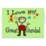 Amo a mi gran Grandad Tarjetón