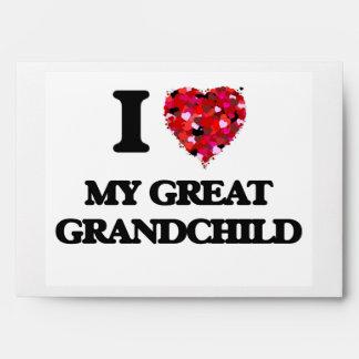 Amo a mi gran nieto sobres