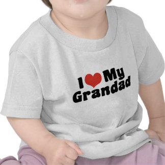 Amo a mi Grandad Camisetas