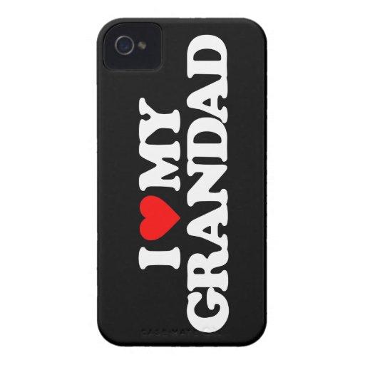 AMO A MI GRANDAD iPhone 4 Case-Mate CÁRCASAS