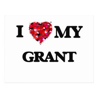 Amo a MI Grant Postales