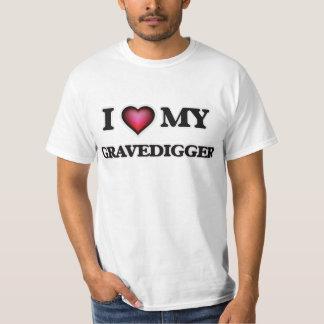 Amo a mi Gravedigger Playera