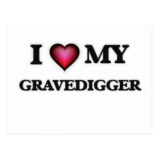 Amo a mi Gravedigger Postal