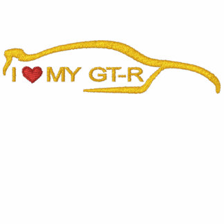 Amo a mi GT-r Sudadera Con Capucha