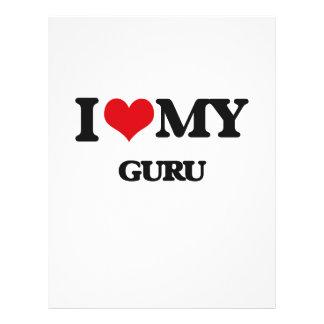 Amo a mi Guru Flyer Personalizado