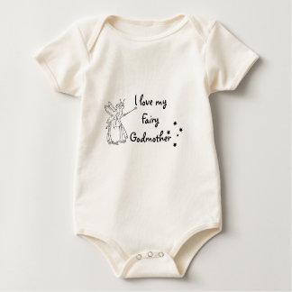 Amo a mi hada madrina body para bebé