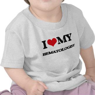 Amo a mi hematólogo camiseta