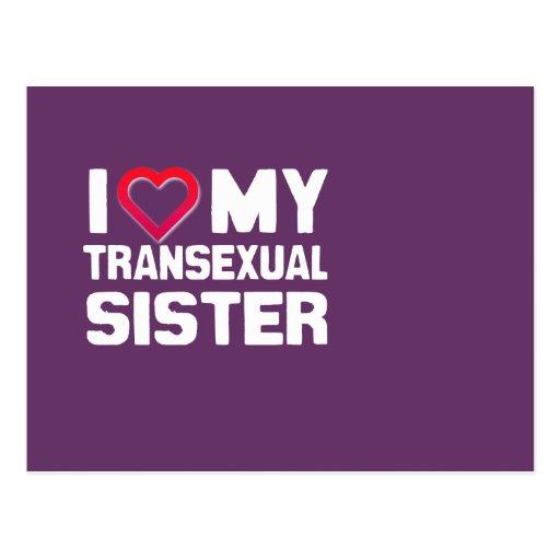 AMO A MI HERMANA DEL TRANSEXUAL POSTALES