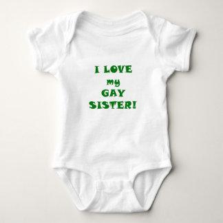 Amo a mi hermana gay body para bebé