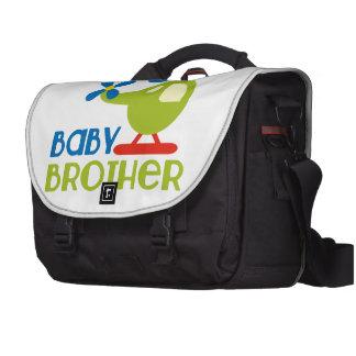 Amo a mi hermano del bebé bolsa de ordenador