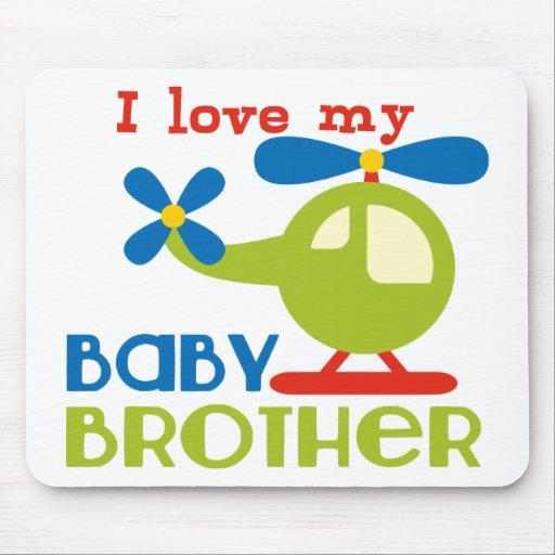 Amo a mi hermano del bebé tapete de ratones