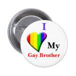 Amo a mi hermano gay pins