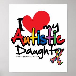 Amo a mi hija autística poster