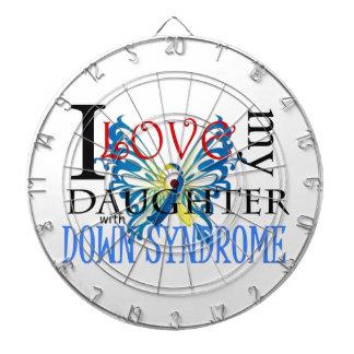 Amo a mi hija con Síndrome de Down Tablero De Dardos