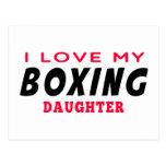 Amo a mi hija del boxeo postal