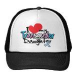 Amo a mi hija del transexual gorras de camionero