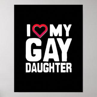 AMO A MI HIJA GAY - - .PNG IMPRESIONES