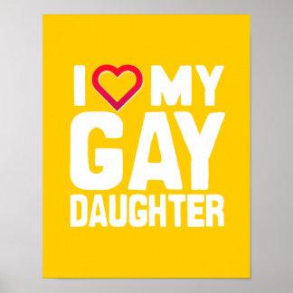 AMO A MI HIJA GAY - - .PNG POSTERS