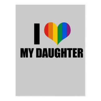 Amo a mi hija gay postal