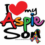 Amo a mi hijo de Aspie Escultura Fotográfica