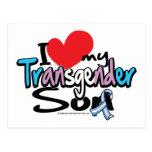 Amo a mi hijo del transexual postal