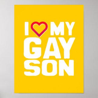 AMO A MI HIJO GAY - - .PNG IMPRESIONES