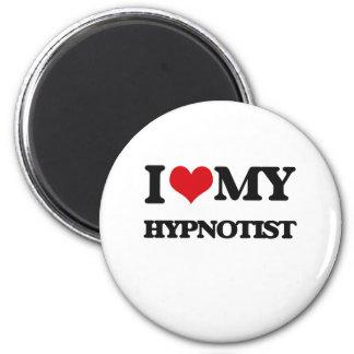Amo a mi Hypnotist Imanes De Nevera