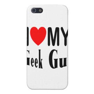Amo a mi individuo del friki iPhone 5 cárcasas
