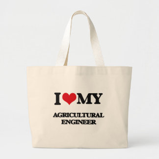 Amo a mi ingeniero agrícola bolsas