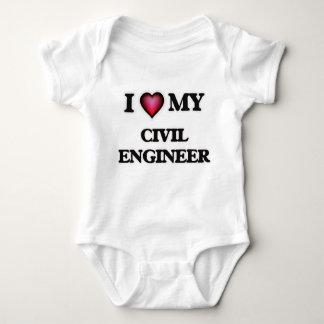 Amo a mi ingeniero civil polera