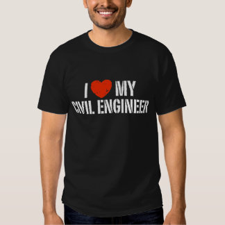 Amo a mi ingeniero civil poleras