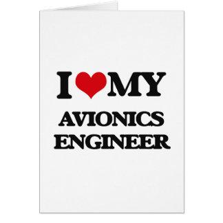 Amo a mi ingeniero de la aviónica felicitaciones