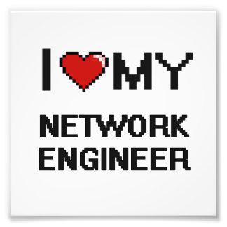 Amo a mi ingeniero de la red fotografía