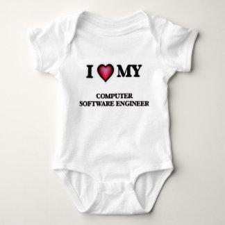 Amo a mi ingeniero de los programas informáticos playera