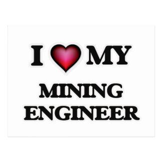 Amo a mi ingeniero de minas postal
