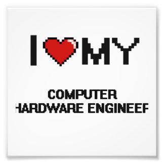 Amo a mi ingeniero del hardware fotografía