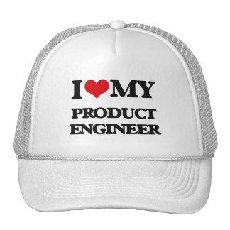 Amo a mi ingeniero del producto gorra