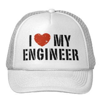 Amo a mi ingeniero gorro