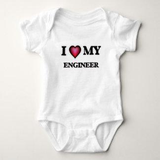 Amo a mi ingeniero playeras