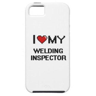 Amo a mi inspector de la soldadura iPhone 5 funda