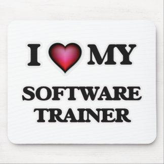 Amo a mi instructor del software tapete de ratón