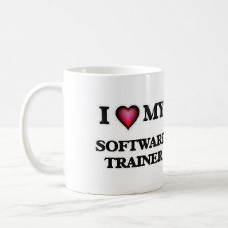 Amo a mi instructor del software taza clásica