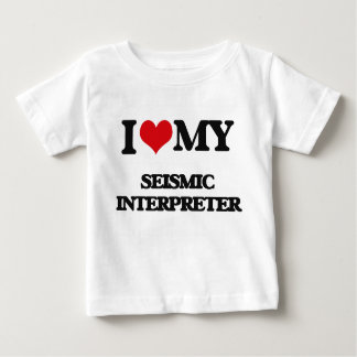 Amo a mi intérprete sísmico t shirt