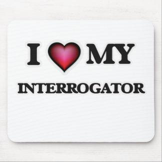 Amo a mi interrogador mousepad