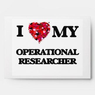 Amo a mi investigador operativo sobres